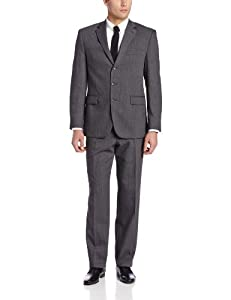 B00EVLNWEK Perry Ellis Men's Runner Suit, Charcoal, 42 X-Large