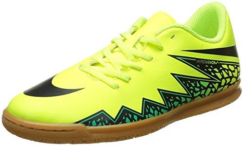 Hypervenom IC Nike Jr Enfant Jaune Turq Black Football II Amarillo Jade Chaussures hyper clr Volt Mixte Phade de q55Iwr