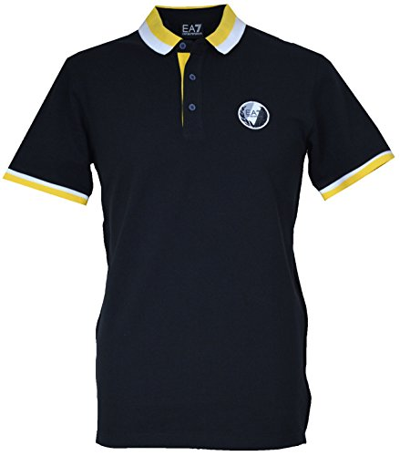 EA7 Armani Men's Polo Shirt S273724 Dark Slate