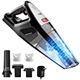 HoLife Handheld 8kp Hand Vacuum Cordless Cleaner 21.9V 100W Home and Car Cleaning with Cyclone Suction