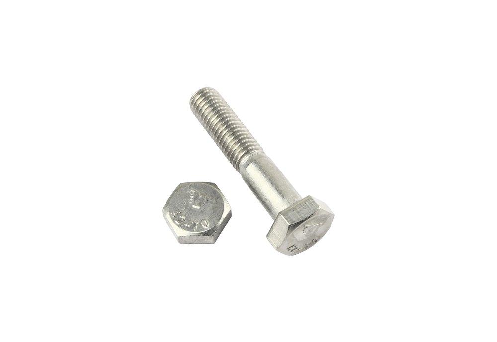 DIN 931 M10 x 40 2 Stk Sechskantschraube mit Schaft Edelstahl V2A