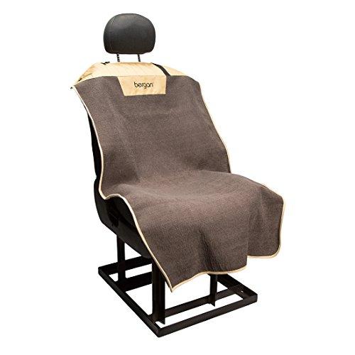 Bergan Bucket Seat Cover, Premium Microfiber, Morel & Sand