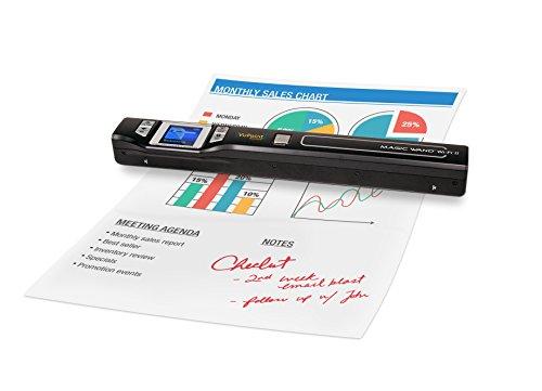 VuPoint Magic Wand Portable Scanner - Document &Amp; Image Scanner 8X Zoom ST47 Magic Wand [Portable, LCD Screen, OCR, Mac/PC]