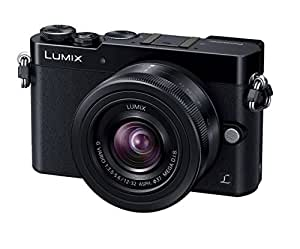 Panasonic LUMIX DMC-GM5 DSLM Mirrorless Camera with Eye Viewfinder, 12-32mm Lens Kit (Black) - International Version (No Warranty)