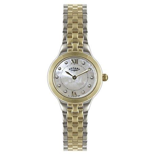 Rotary LB02761/41 Women's Two-Tone Bracelet Watch