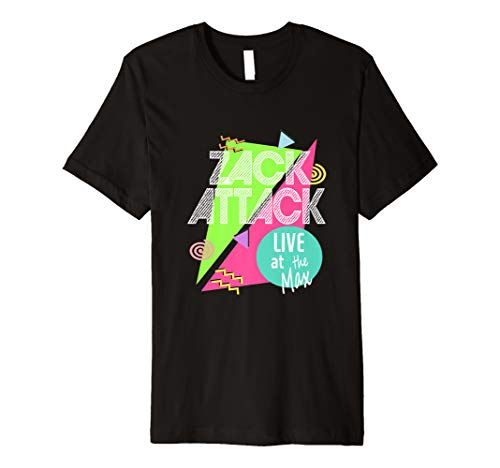 Zack Attack Live at the Max Long T-shirt