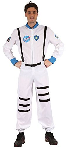 White Men's Astronaut Costume - Apollo Astronaut Costume