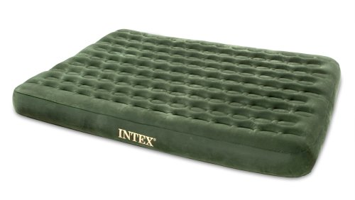 Twin Prestige Hunter Green Downy Airbed (Built-in DC Pump), Outdoor Stuffs