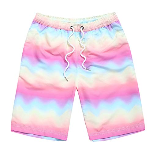 NUWFOR Fashion Men Casual Star Printed Beach Casual Men Short Trouser Shorts Pants(Multicolor,US S Waist:30.31'') by NUWFOR (Image #7)