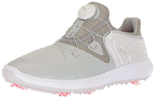 PUMA Golf Women's Ignite Blaze Sport Disc Golf Shoe, Gray Violet/White, 8 Medium US