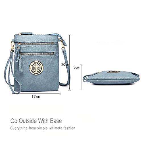 Bag Miss Pouch Blue Women Fashion Girls Leisure Crossbody 1417 Lulu Shoulder For 1q1prRY