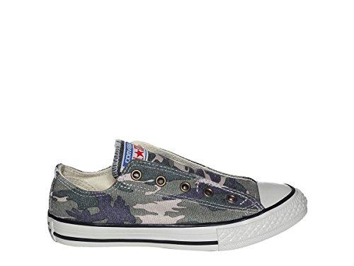 Camouflage Converse - Converse Junior CTAS Chuck Taylor All Star Slip Camo (5 M US Big Kid)