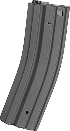 Evike - Matrix Universal Feeding Full Metal 500rd Hi-Cap M4 AEG Magazine (Color: Gunmetal Grey)