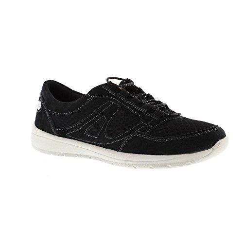 Earth Spirit Carey - Black (Suede) Womens Shoes kbC4decg