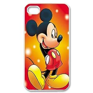 LSQDIY(R) Micky iPhone 4,4G,4S DIY Case, Brand New iPhone 4,4G,4S Plastic Case Micky