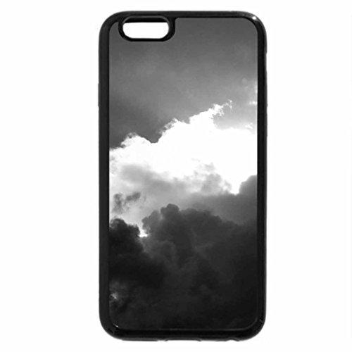 iPhone 6S Plus Case, iPhone 6 Plus Case (Black & White) - Art in the sky