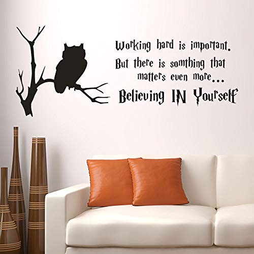 Diy Believing In Yourself Removable Wall Stickers Vinyl Mural Home Room Decor Decoracion Hogar - Wall -