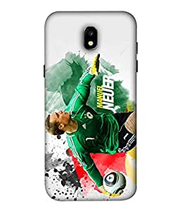 Colorking Football Neuer Germany 04 Multi Color shell case cover for Samsung J5 Pro 2017