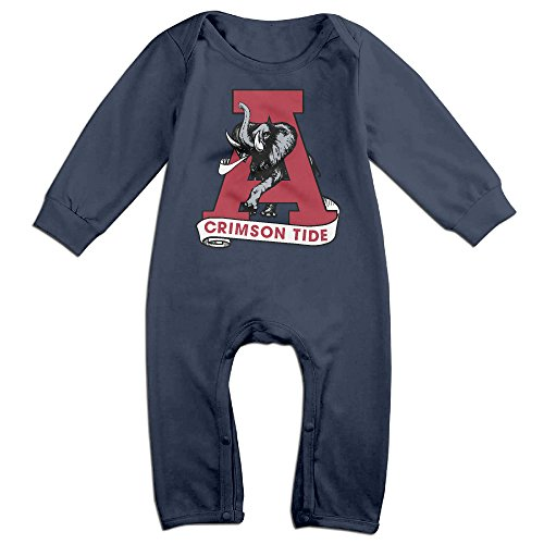 MJML5 Baby University Of Alabama Crimson Tide Romper Playsuit Outfits 18 Months