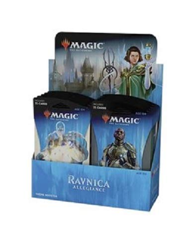 Magic The Gathering Ravnica Allegiance Theme Guilds Booster Box: 10 Jumbo Packs!