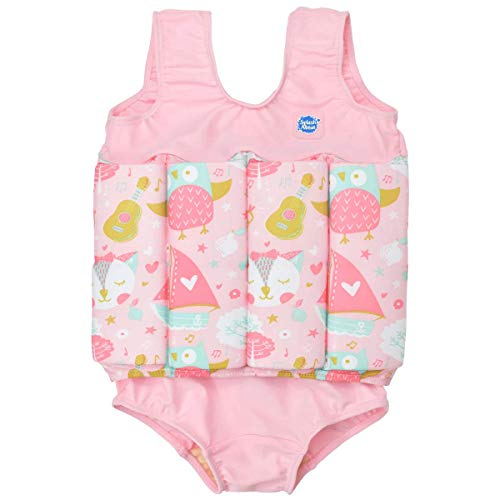 (Splash About Kids Floatsuit with Adjustable Buoyancy (Owl & The Pussycat, 1-2 Years))