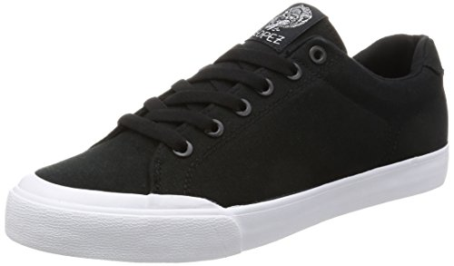 C1RCA Mens AL50R Adrian Lopez Durable Cushion Sole Skate Skateboarding Shoe Black/White/Gum