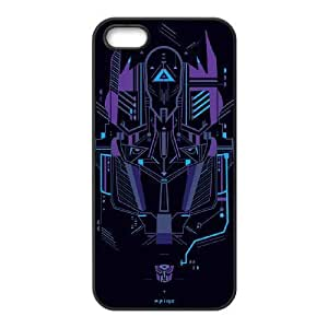 Autobots transformers_007 TPU Cover Unique Phone Case Black For iphone 5 5s SE