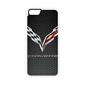 iPhone6 Plus 5.5 inch Phone Case White Chevrolet UYUI6834201