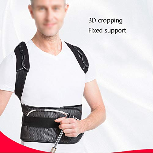 WYNZYHY Medical Belt, Lumbar Disc Lumbar Muscle Strain Male and Female Medical Posture Correction Clothing Hunchback Correction (Color : Inflatable, Size : L) by WYNZYHY (Image #2)