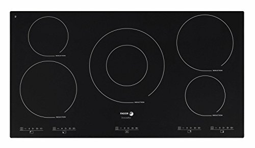 Price comparison product image Fagor IFA90BF 36-Inch Induction Cooktop without Trim,  Beveled Front