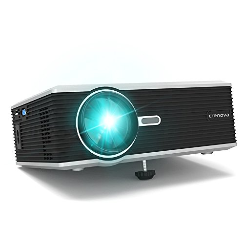Best mini projector crenova xpe470 video home outdoor for Iphone mini projector reviews