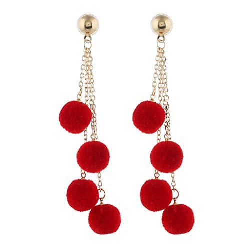 (FIged Forever Fashion Jewelry - Thread Wrapped Multi Orbit Soriee Drop Earrings for Women)