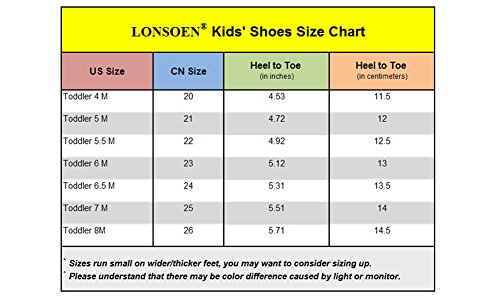Pictures of LONSOEN Toddler Boy Girl Summer Outdoor Closed- 2