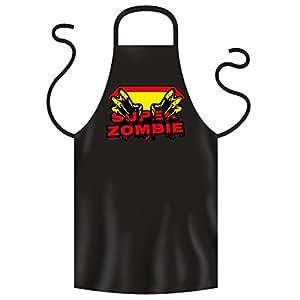 Super Delantal de Goodman Diseño: Super Zombie. Super Party Delantal