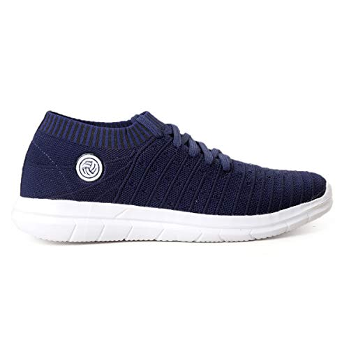 414j1DgUAOL. SS500  - Bacca Bucci® Athleisure Series Running Sneakers Shoes Men Slip-On Fly Knitted Lightweight Casual Shoes for Fitness Gym Tennis Training Jogging Trekking Driving Power Yoga Sport Shoes