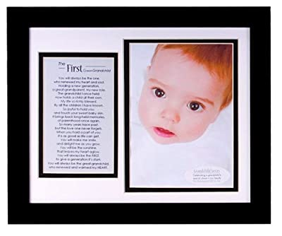 The Grandparent Gift Co First Great-grandchild Photo Frame by The Grandparent Gift Co.