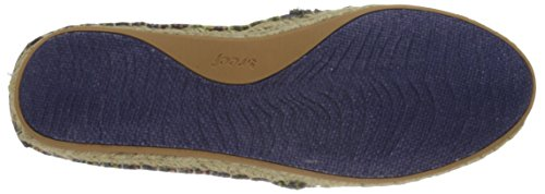 UK Women's Raffia Shaded Trainers Summer ES Anthracite Reef 7 Blue d0gnxdR