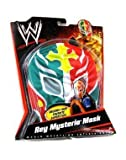 rey mysterio mask red - WWE Wrestling Rey Mysterio Mask - Green, Red, with Yellow Cross & White Trim