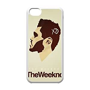 The Weeknd XO iPhone 5c Cell Phone Case White DIY Gift zhm004_0458598