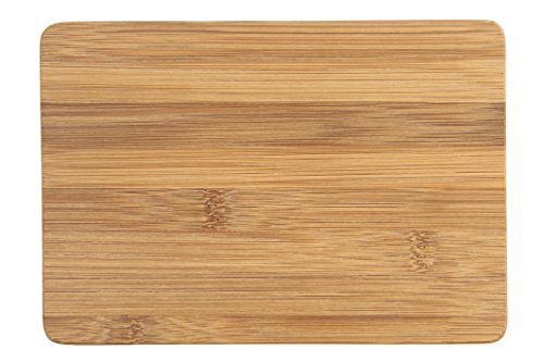 Bamboo Cooking Utensils for Non Stick Cookware and Camping Cooking. Light Weight, Eco-Friendly and Renewable. Safe Food Preparation-2 Piece Set. (Mini Cutting Boards) - Cutting Board Preparation