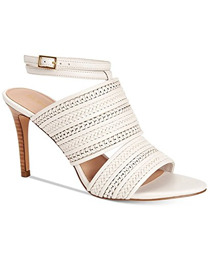 BCBGeneration Womens Karli Open Toe Casual Ankle Strap Sandals, Chalk, Size 7.5