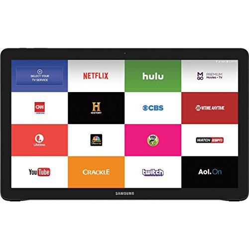 Samsung IT SM-T670NZKAXAR Samsung Galaxy View 32GB Android 18.4'' Wi-Fi Tablet Computer (Black) by Samsung