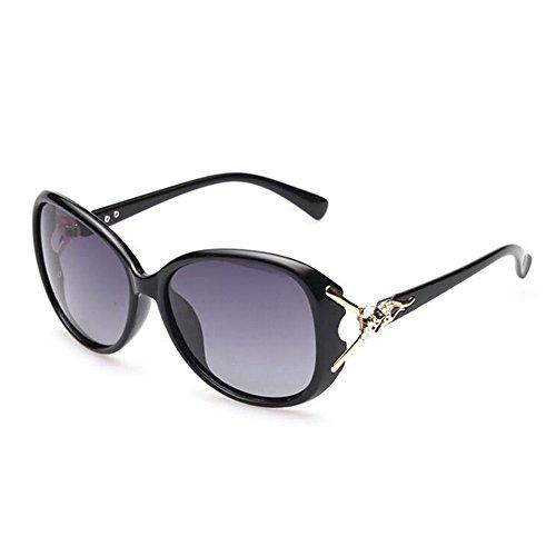 Gafas Dama De Sol Violeta Polarizadas Sol De Negro Visor Limotai Negro Uv Solgafas Dama Gafas De Gafas Dama qCf5w0x7w