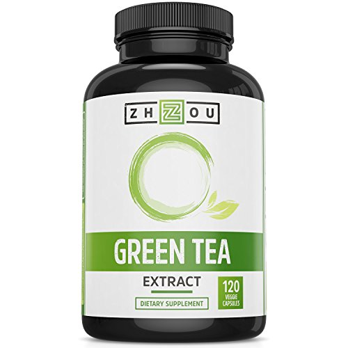 Herbal Antioxidant Formula (Green Tea Extract Supplement with EGCG for Weight Loss - Metabolism, Energy and Healthy Heart Formula - Gentle Caffeine Source - Antioxidant & Free Radical Scavenger - 120 Capsules)