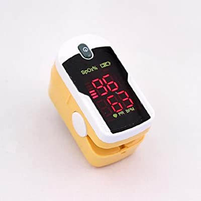 Concord Health Supply Fingertip Pulse Oximeter with Reversible Display by Concord Health Supply