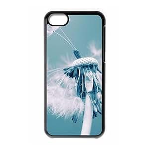 Dandelion The Unique Printing Art Custom Phone Case for Iphone 5C,diy cover case ygtg515518