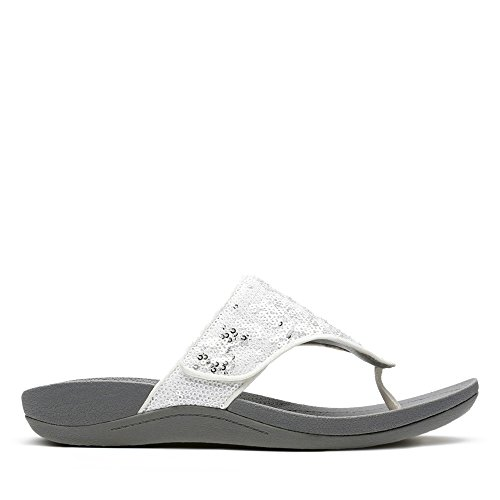 Clarks Pical Lipson Textile Sandals in White H5RsPk