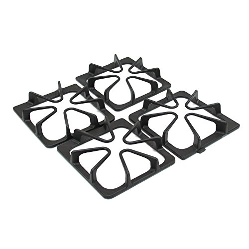 Whirlpool W10447925 Range Surface Burner Grate Set Genuine Original Equipment Manufacturer (OEM) Part for Whirlpool, Maytag, Amana - Amana Maytag Whirlpool Range