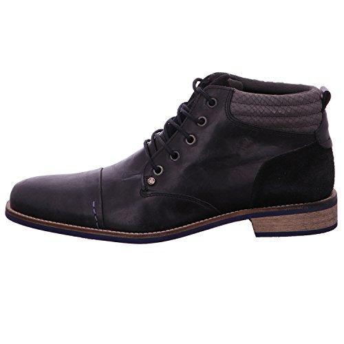 BULLBOXER 500P54654 - Zapatos de cordones para hombre negro