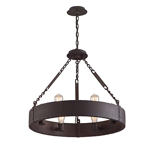 Troy Lighting Jackson 6-Light Pendant - Copper Bronze Finish